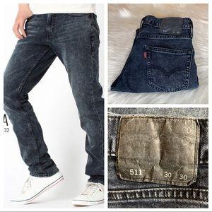 Levi's 511 Slim Fit Jeans 30X30